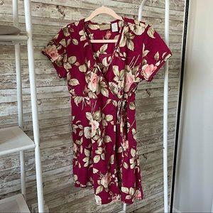 VINTAGE Liz Claiborne 'Lizwear' Wrap Dress